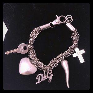D&G Chain Charm Bracelet